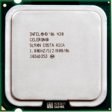 CPU Intel Celeron D 430 (1800MHz, LGA775, L2 512Kb, 800MHz)