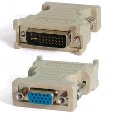 Переходник DVI-I(Цифровая и аналоговая передача)-VGA