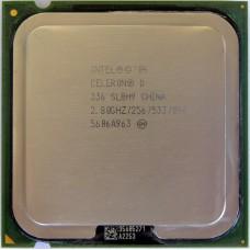 CPU Intel Celeron D 336 2.8GHz/256k/533MHz