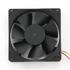 Вентилятор для корпуса 80x80x25 ball-bearing 3 pin провод 30 см FANCASE/BALL