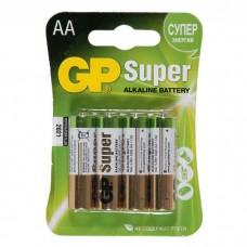 Батарея GP 15A-CR4 Super AA 4шт