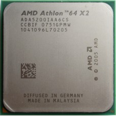 AMD Athlon 64 X2 5200+ (ADO5200) 2.7 ГГц / 1Мб / 2000МГц Socket AM2