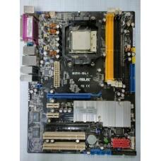 ASUS M2N-SLI SocketAM2 nForce560 SLI 2xPCI-E+GbLAN+1394 SATA RAID ATX 4DDR-II БУ