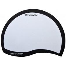 Коврик пластиковый DEFENDER Ergo opti-laser Black (черный) 215х165х1.2 мм