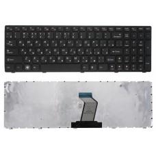 Клавиатура БУ для ноутбука Lenovo V570 B570 Z570 G570 Series чёрная