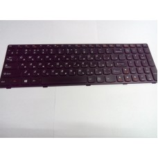 Клавиатура БУ для ноутбука Lenovo Ideapad G580 G585, Z580, Z580A, Z585, V580 чёрная