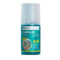 Спрей-очиститель DEFENDER (CLN30598) ЖК/плазменных экранов (200 мл +Салфетка из микрофибры)