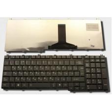 Клавиатура для ноутбука Toshiba P300 L500 L350 Black