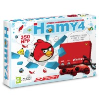 Игровая приставка Sega - Dendy Hamy 4 (350-in-1) Angry Birds Red