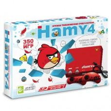 Игровая приставка Sega - Dendy Hamy 4 (350-in-1) Angry Birds Red