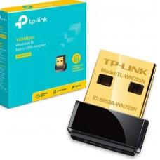 Беспроводная сетевая карта TP-Link TL-WN725N 150Mbps Wireless N Nano USB Adapter, Nano Size, Realtek