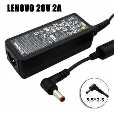 Блок питания для нетбука Lenovo 20V-2A 40W IdeaPad S9/S10 series (5.5*2.5) оригинал