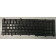 Клавиатура БУ для ноутбука Toshiba Satellite C650 C655 C660 C665 C670 C675 L650 L655 L670 L750  L675
