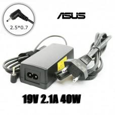 Блок питания для нетбука Asus 19V-2.1A 40W EEE PC 1005/1201 Mini (Noname) без кабеля питания