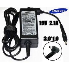 Блок питания для ноутбука Samsung 19V-2.1A 3.0*1.0 оригинал