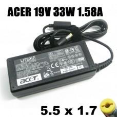 Блок питания для нетбука Acer 19V-1.58A разъём 5,5*1,7мм 30W оригинал