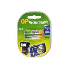 Аккумуляторы GP 2шт, AAA, 1000mAh, NiMH (100AAAHC-CR2)