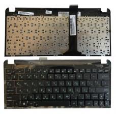 Клавиатура БУ для нетбука Asus Eee PC 1015B 04GOA292KRU00-1 c топкейсом 13GOA2920P05X-1X чёрная