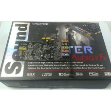 Звуковая карта Creative Sound Blaster Audigy FX 5.1  PCI-Ex1 SB1570