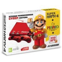 Игровая приставка Sega - Dendy Hamy 4 (350-in-1) Mario Red