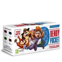 Игровая приставка портативная Dendy Pocket (180-in-1) Green