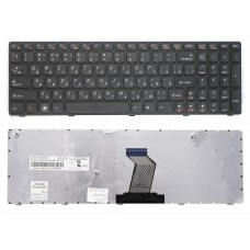 Клавиатура БУ для ноутбука Lenovo G570 B570 Z570 G780 Series  Black Уценка не работают 3 клавиши