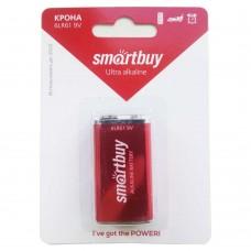 Батарея Крона Smartbuy 6LR61/9B алкалиновая