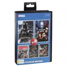 Картридж сега 05в1 AB-5011 BATMAN/BATMAN ROBIN/BATMAN FOREVER/BATMAN RETURNS/BATMAN REVENGE JOKER