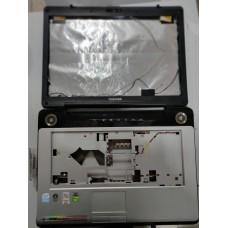 Корпус ноутбука TOSHIBA Satellite A200 A+B+C без нижней части