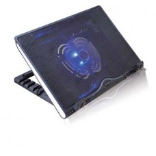 Охлаждающая подставка для ноутбука Crown  CMLS-925 (Black) 17, 1*Fan,blue light,2*USB