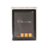 Салфетка для планшетов цвет черный  Konoos KP-1-Вl