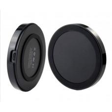 Беспроводное зарядное устройство Qi чёрное