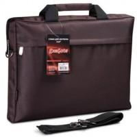 Сумка для ноутбука 15-16 Exegate Start S15 Charcoal,  темно-коричневая