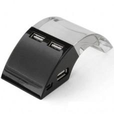 Хаб USB 2.0  Konoos Концентратор UK-19, 4 порта USB, с подсветкой