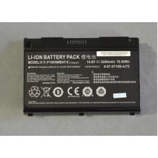 Аккумулятор БУ для ноутбука DNS CLEVO P150HMBAT-8 6-87-X710S-4272 5200mAh 14.8V