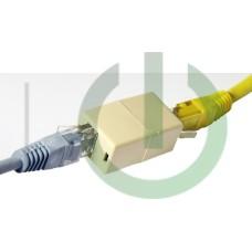 Соединитель проходной LY-US022 RJ-45 8P8C F/F (сетевой)