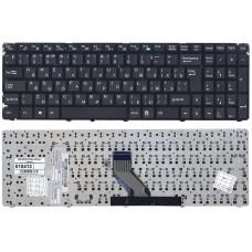Клавиатура для ноутбука DNS 0157894, 0157896, MT50 чёрная