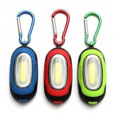 LED Фонарик-брелок SK95 три режима работы (зеленый)