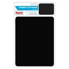 Коврик тканевый BURO BU-CLOTH/black матерчатый черный 220х250х4мм