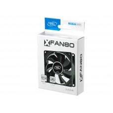 Вентилятор для корпуса 80x80x25 DEEPCOOL  XFAN  V2 3pin+4pin (molex) 20dB 80g RET