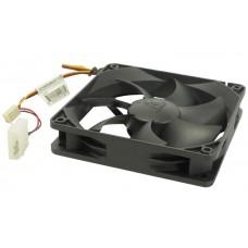 Вентилятор для корпуса 120x120x25 GlacialTech GT-12025-EDLB1  3-pin 4-pin (Molex)16dB OEM