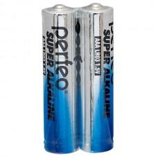 Батарейка алкалиновая Perfeo Super Alkaline AAA PF LR03/2SH (2 шт.уп) цена за одну