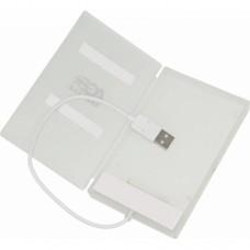 Внешний корпус AgeStar SUB2A1 2.5 SATA USB2.0, алюминий, серебристый