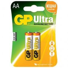 Батарея GP  15AU-0S2, LR6/2SH Ultra  Алкалиновые (2 шт в упаковке) AA