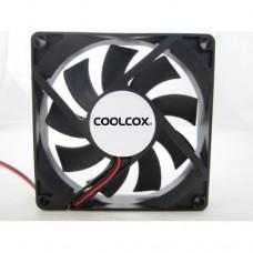 Вентилятор Coolcox 92x92x25  CC9225M12S  (Molex, Black, Sleeve 3000+10%RPM)