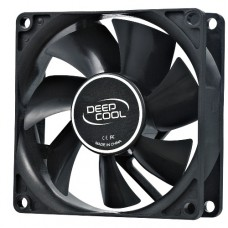 Вентилятор для корпуса 80x80x25мм  DEEPCOOL XFAN 80 (molex, 20dB, 1800rpm)