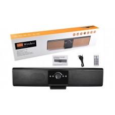 Колонка беспроводная Bluetooth Sound Bar TG-018 (microSD/USB/AUX/FM) чёрная, коробка