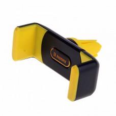 Держатель в автомобиль REMAX RM-C01 в воздуховод (черный с желтым)