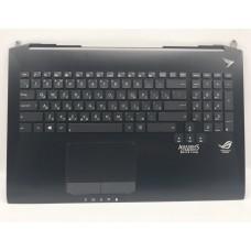 Верхняя часть корпуса ноутбука Asus ROG G750 G750J G750V G750JX топкейс упор для рук клавиатура с по
