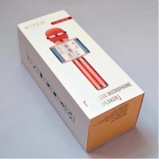 Микрофон-колонка караоке WSTER WS-858 Bluetooth/Line-in/Out